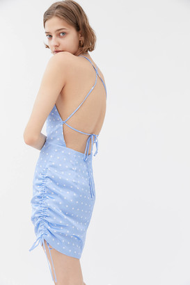 The East Order Eddy Strappy Back Mini Dress