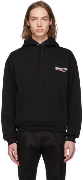 Balenciaga Black Campaign Hoodie