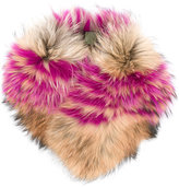 Mr & Mrs Italy - fur collar - women - Racoon Fur - One Size