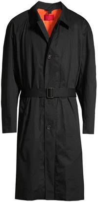 HUGO Marco Oversized Cotton Trench Coat
