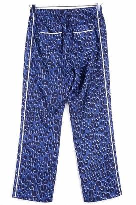 Louis Vuitton Blue Silk Trousers for Women