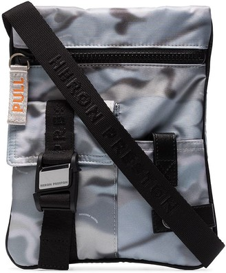 Heron Preston Camouflage Pattern Crossbody Bag