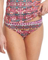 Nanette Lepore Sunset Shibori Charmer Printed Swim Bottom
