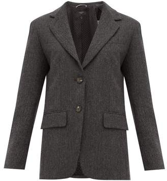 Max Mara Puma Blazer - Womens - Dark Grey