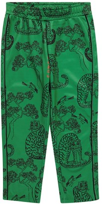Mini Rodini Tigers printed sweatpants
