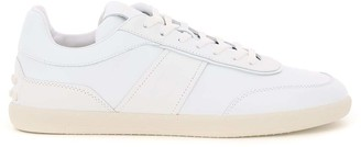 Tod's MULTICOLOUR LEATHER SNEAKERS 5 White Leather