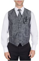 Buy Your Ties Men's Fashion Paisley Formal Vest Necktie and Hanky Set