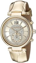 Michael Kors Women's MK2444 Sawyer Gold-Tone Watch