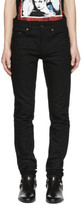 Saint Laurent Black Low-waisted Skinny Jeans