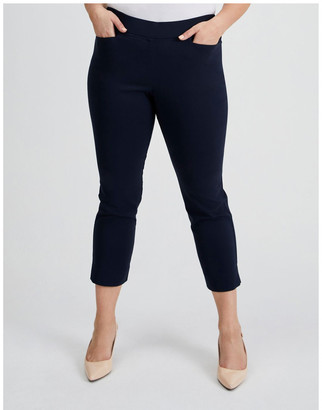 Regatta Essential Stretch Crop Pant in French Navy