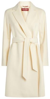 Max Mara Luana Belted Wool Coat