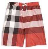 Burberry Little Boy's & Boy's Jeffries Checked Swim Shorts