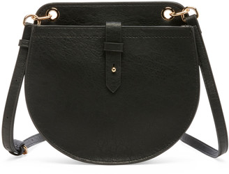 Sole Society Women's Nylah Crossbody Bag Faux Leather Black From