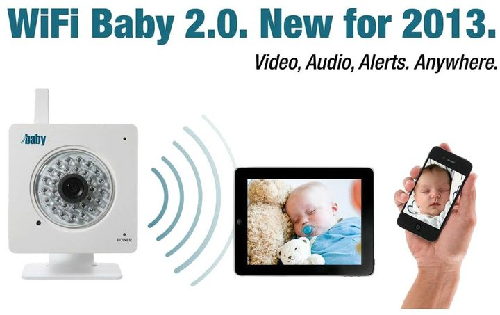 WiFi Baby 2.0 - 2013 Version - White