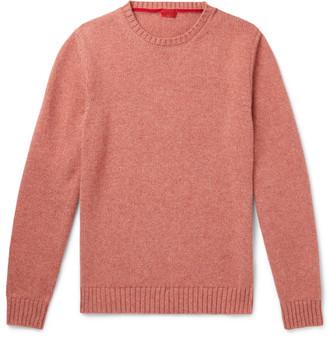Isaia Slim-Fit Cashmere Sweater - Men - Orange