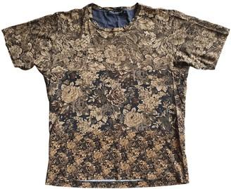 Dolce & Gabbana Beige Cotton T-shirts
