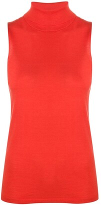 Schumacher Dorothee sleeveless roll neck top