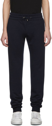 eidos Navy Wool Sweat Lounge Pants