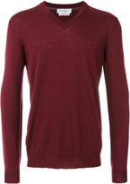 Salvatore Ferragamo classic v neck sweater