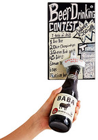 Beer Drinking Contest Mounted Bottle Opener