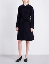 Nina Ricci Frayed tweed coat