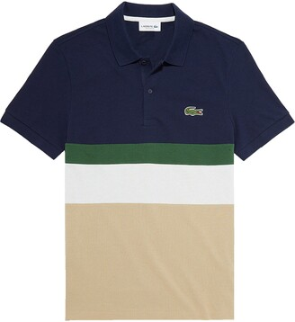 Lacoste Regular Fit Colorblock Pique Polo