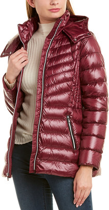 Cole Haan Signature Chevron Quilted Jacket