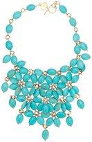 Francesca Romana Diana gold plated embellished necklace