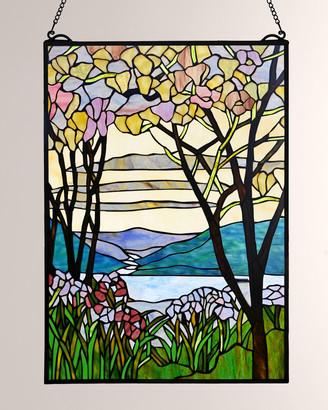 Dale Tiffany Tiffany Magnolia Window Panel