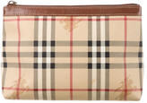 Burberry Haymarket Cosmetic Pouch