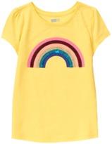 Crazy 8 Sparkle Rainbow Tee