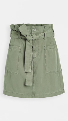 Joe's Jeans Paperbag Utility Skirt
