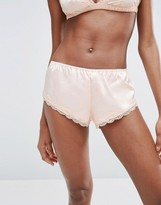 Asos Skye Satin & Lace French Underwear
