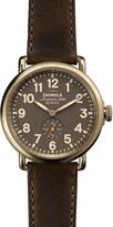 Shinola S0100070 Runwell stainless steel watch