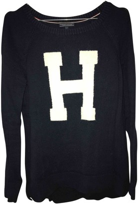 Tommy Hilfiger Navy Cotton Knitwear for Women