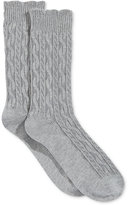Charter Club Women's Textured Cashmere-Blend Socks, Only at Macy's
