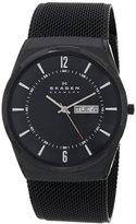 Skagen Men's SKW6006 Melbye Black Titanium Mesh Watch