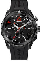 Reebok Impact Chrono Ion-Plated Stainless Steel and Silicone Strap Watch