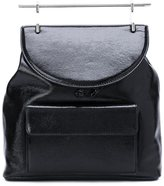 M2Malletier signature top handle backpack