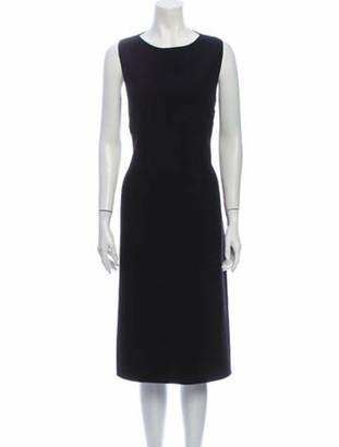 Celine Wool Midi Length Dress Wool