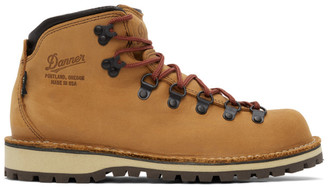 Danner Tan Mountain Pass Boots