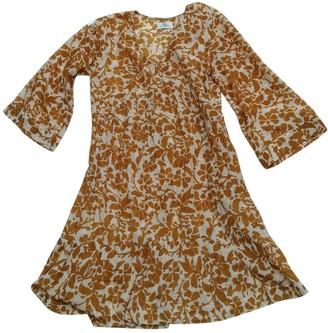 Stella Forest Gold Cotton Dress for Women