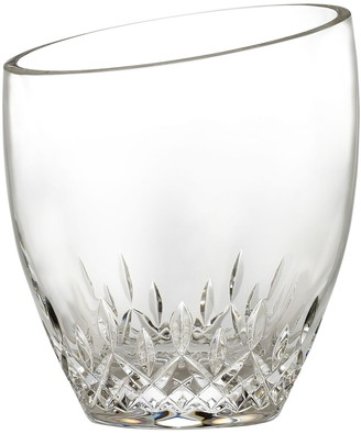 Waterford 'Lismore Essence' Lead Crystal Angled Top Ice Bucket & Tongs