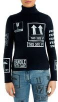 Moschino Wool Turtleneck Package Sweater