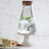 Williams-Sonoma Cork-Lid Beverage Dispenser