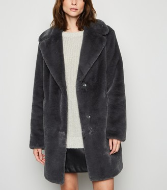 New Look Tall Faux Fur Coat