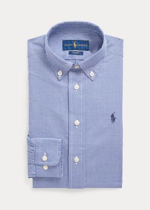 Ralph Lauren Slim Fit Gingham Dress Shirt