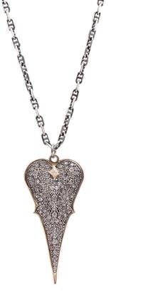 Armenta Diamond Heart Pendant Necklace