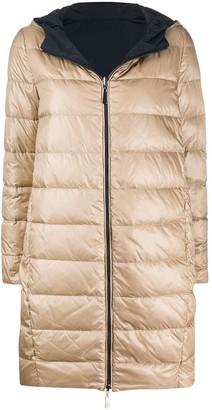 Peserico Hooded Padded Coat
