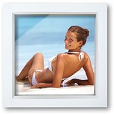 Camilla And Marc Innova Editions 15 x 15 cm/ 6 x 6-inch Box Frame, White